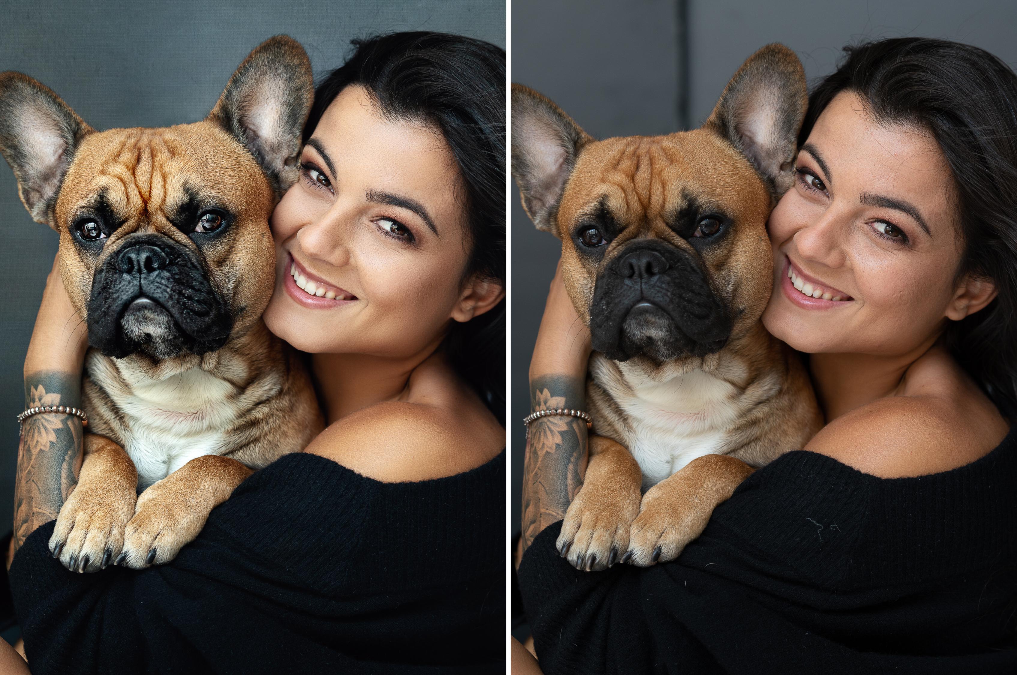 Dog & Owner portrait